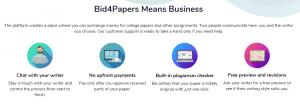 bid 4 papers