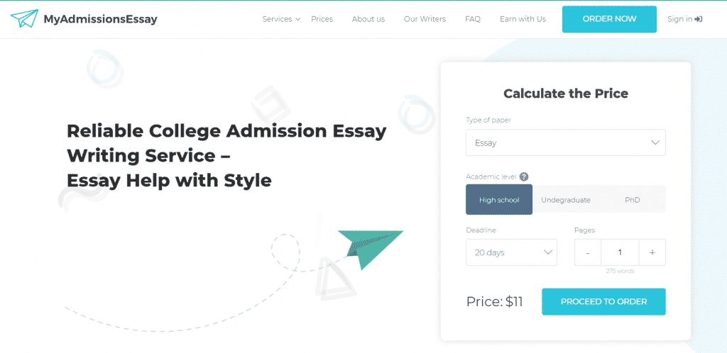 my admissions essay reviews