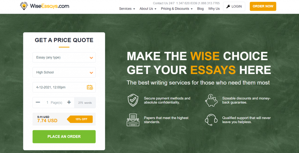 wise essays reviews